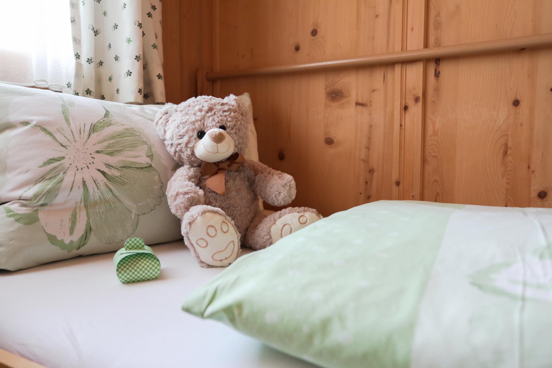 Detailaufnahme Teddybär
